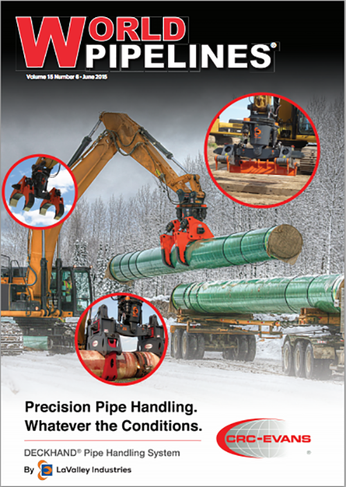 World Pipelines June 2015 Issue